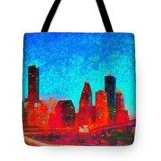 Houston Skyline 131 - Pa Tote Bag