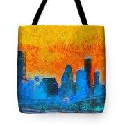 Houston Skyline 41 - Pa Tote Bag