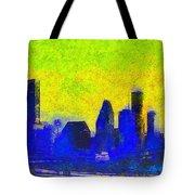 Houston Skyline 42 - Pa Tote Bag