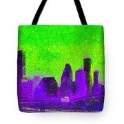 Houston Skyline 43 - Pa Tote Bag