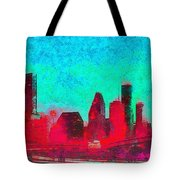 Houston Skyline 44 - Pa Tote Bag