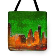 Houston Skyline 48 - Pa Tote Bag
