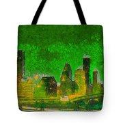 Houston Skyline 49 - Pa Tote Bag