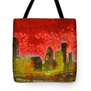 Houston Skyline 50 - Pa Tote Bag