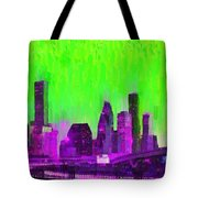 Houston Skyline 85 - Pa Tote Bag