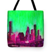 Houston Skyline 86 - Pa Tote Bag