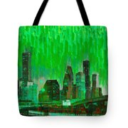 Houston Skyline 96 - Pa Tote Bag