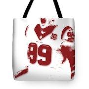 Houston Texans Jj Watts Tote Bag