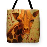 How Do You Spell Giraffe? Tote Bag