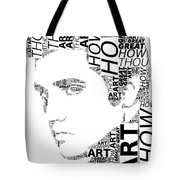 How Great Thou Art Elvis Wordart Tote Bag
