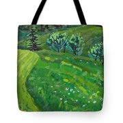 How Green Is My Valley Tote Bag