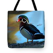 How Much Wood Could A Wood Duck Chuck Tote Bag
