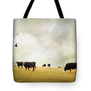 How Now Black Cow Tote Bag