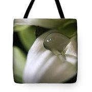 How Still The Petal Tote Bag