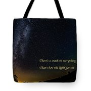 How The Light Gets In 2 Tote Bag
