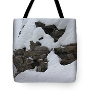 How The Mountain Formed Tote Bag
