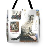 How To Live With A Cat Tote Bag