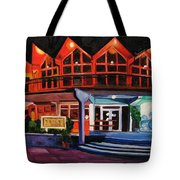 Howard Johnsons At Night Tote Bag
