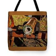 Howitzer Battle Of Honey Springs Tote Bag