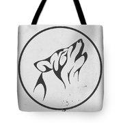 Howling Wolf Art - Fool Moon Wolf Lovers Prints Tote Bag