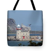 Howth Lighthouse 0005 Tote Bag