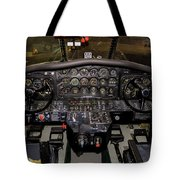 Hu-16b Albatross Cockpit Tote Bag