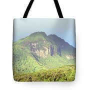 Huahine Forest And Mountaintop Tote Bag