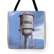 Hubbell Water Tower Poster Tote Bag