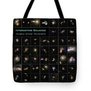 Hubble Galaxy Poster Tote Bag