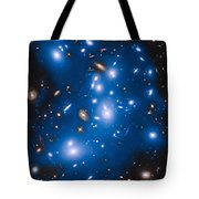 Hubble Sees Ghost Light From Dead Galaxies Tote Bag