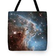 Hubble's 24th Birthday Snap Of Monkey Head Nebula Tote Bag