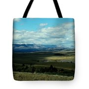 Hudson Bay Divide, From Looking Glass Tote Bag