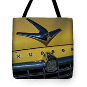 Hudson Hood Ornament And Logo Tote Bag