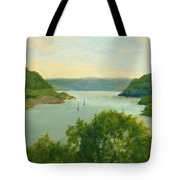 Hudson River From Bear Mt. Tote Bag