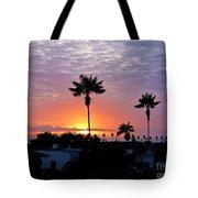 Hued Sunset  Tote Bag