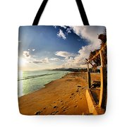 Huequito Beach Tote Bag