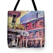 Hues Of The French Quarter Tote Bag