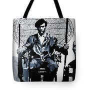 Huey Newton Minister Of Defense Black Panther Party Tote Bag