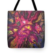 Huffalon Nekkid In The Wood Tote Bag