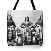 Hula Dancers, C1875 Tote Bag
