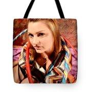 Hula Girl 2 Tote Bag