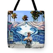 Hula Hoop Woman Tote Bag