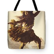 Hula In A Ti Leaf Skirt Tote Bag