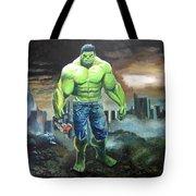 Hulk. Original Acrylic Tote Bag