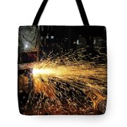 Hull Maintenance Technician Welds Scrap Tote Bag