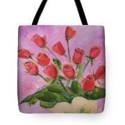 Hull Roses Tote Bag