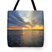 Hull Sunrise In March  Tote Bag