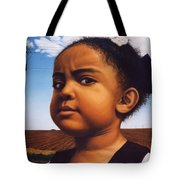 Human-nature Number Thirteen Tote Bag by James W Johnson