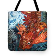 Humanity Fish Tote Bag