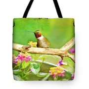 Humminbird Attitude - Digital Paint 3 Tote Bag
